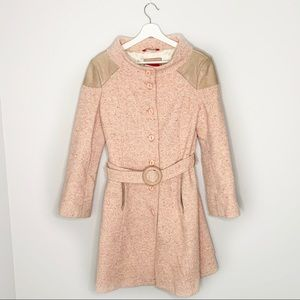Mackage Dusty Pink Trench Coat